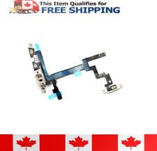 iPhone 5 Power On Off Volume Control Flex Cable With Brackets