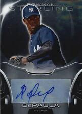 2013 Bowman Sterling Prospect Autographs #RD Rafael DePaula Auto
