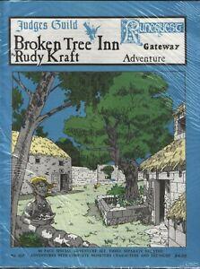 Judges Guild Broken Tree Inn 2nd Print JG107