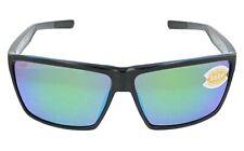 Costa Del Mar Rincon Polarized Green Mirror 580P Black Sunglasses RIN 11 OGMP