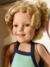 """Danbury Mint """"Bathing Beauty"""" Shirley Temple Toddler Doll Collection~Mib~1 Owner"""