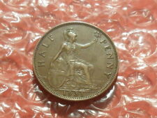 1931 George V half-penny.