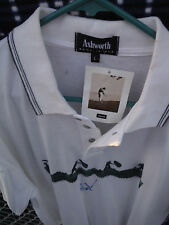 2 Signed FREDDIE Boom-Boom COUPLES Ashworth Shirt + Nissan L.A. Open Ticket_FRED