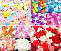 Heart Petal Mulberry Paper Flowers 25 mm Mixed Colors Mulberry paper flower