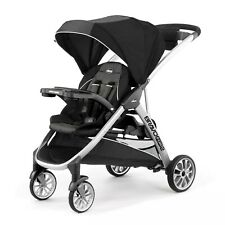 Chicco Bravo for 2 Double Stroller - Iron Newborn and Up Black