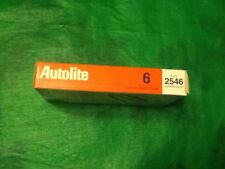 AUTOLITE # 2546 Copper Spark Plugs,Set Of (6),NEW IN BOX,N.O.S.