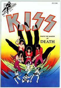 Rock Fantasy (1989) #10 NM 9.4 KISS