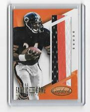 Walter PAYTON 2015 Panini Tela OF THE GAME 3 color con parche #58/99 -bears
