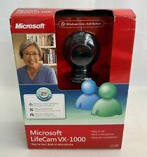 Microsoft LifeCam VX-1000 Web Cam Built In Microphone NEW