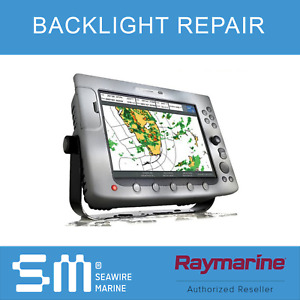 Raymarine E120 MFD Backlight Repair with Software Upgrade   1 YEAR WARRANTY!