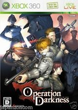 Used Xbox 360 Operation Darkness MICROSOFT JAPAN JAPANESE JAPONAIS IMPORT
