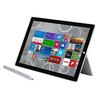 Microsoft Surface Pro 3 128GB, Wi-Fi, 12in - Silver Very Good Condition