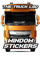 DAF TRUCKS LOGO WINDOW VINYL STICKER X1 DAF XF CF LF TRUCKS HAULAGE TRUCK