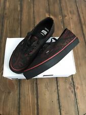 Opening Ceremony Vans Authentics Embroidered Paisley Tango Red SIZE 9 Brand New
