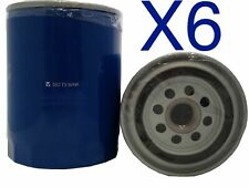 6x Oil Filter Suits Z9 FORD FAIRMONT AU SER 6CYL 4.0L PET MPFI WITH IRS 98-2000