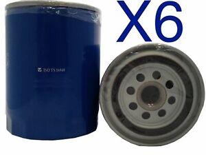 6x Oil Filter Suits Z9 FORD PUMA EUROPE TS/TL/TE50 W/O COOLER 5L V8 99-02
