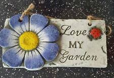 Latex Moulds for making this lovely garden plaque/sign