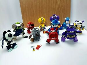 Lego Mixels Bundle Of 11 Characters Incomplete With No Instructions