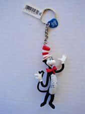 "Rare Applause Dr. Seuss Cat In The Hat Collectible Keyring 4"" Keychain Unused"
