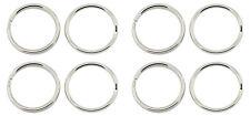 ❤ 50 x Silver Tone Keyring Split Ring 20mm Jewellery Making ❤