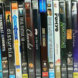 Movie Preowned DVD Collection Good Condition Bulk Discounts Free Tracked Post