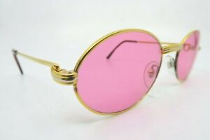 Vintage 24KT gold filled sunglasses Cartier PARIS m. Saint Honore w/case France
