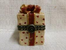 Boyds Bear Valentino's Present W/ Romeo McNibble Treasure Box 82071 Nib