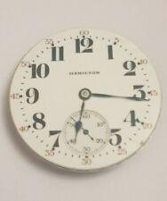 Movement 16 s Hamilton Pocket Watch