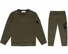 Abbigliamento sportivo verde per bambini dai 2 ai 16 anni taglia 2 anni