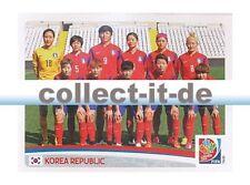 Panini Frauen WM World Cup 2015  - Sticker 347 - Team Korea