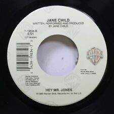 Pop Nm! 45 Jane Child - Hey Mr. Jones / Welcome To The Real World On Warner Bros