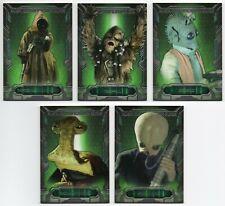 2016 Star Wars Masterwork Alien Identification Guide 10 Cards Complete Set