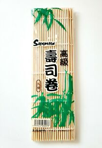 Japanese Bamboo Sushi Roller Maker Mat. New In Package