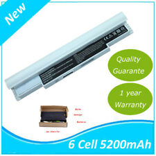 Batterie blanche 5200mAh pour Samsung N110-12PBK N110 NP-NC10 NC20
