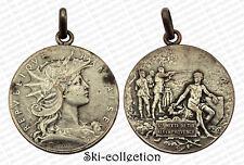 Medal Board Mixed Shooting Aix-En-Provence. France, to 1900. Bronze Silver