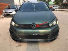 MATT BLACK FRONT GRILL EMBLEM BADGE MK6 GTI R TSI TDI SPORTWAGEN WAGON 2010-2014