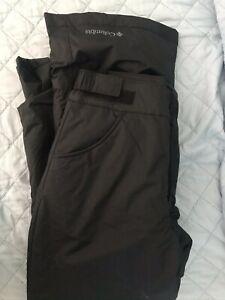 Columbia Waterproof Black Peak II Ski Snow Pants M 10 12 Youth $75