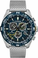 Citizen (CB5848-57L) Promaster Navihawk Chrono Eco AT Blue Stainless Steel Watch
