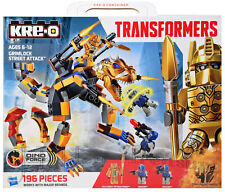 KRE-O Transformers Age of Extinction GRIMLOCK STREET ATTACK 196 Pcs A6955