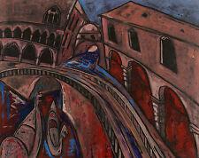 Christian Peschke 1946 - seufzerbrücke Venise Italie