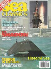 Sea Classics Nov.93 Austria Dreadnoughts Torpedo Boat Leyte Gulf Canada Tribals
