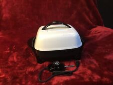Presto 11in Electric Skillet Fry Pan w/ Lid Roasts Fries Grills Home Kitchen