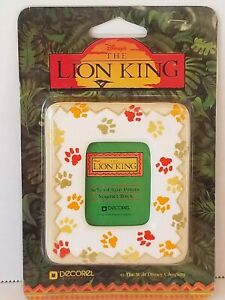 Disney The Lion King Magnetic Photo Frame For School Size Pictures