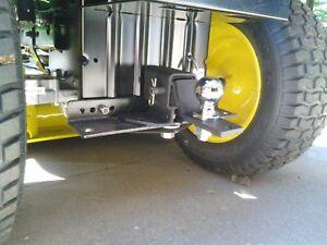 UNIVERSAL Lawn Garden Tractor Receiver Hitch - John Deere - Snapper - Craftsman