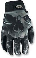 Lethal Threat BioSkull Gloves Motorcycle Street Bike