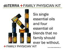 SPECIAL DOTERRA OILS - 10 PACK - LEMON - ICE BLUE - OREGANO - LAVENDER + MORE