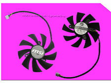 87 x 15 mm MSI Geforce GTX GTX 560 570 580GTX 650Ti Video Card FAN PLA09215B12H