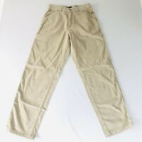 Structure Blue Mens Khaki Corduroy Pants Original Outdoor 30 X 32 NWT 24Y