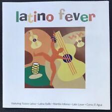 LATINO FEVER - CD VGC - Latin World Music  Best Of Salsa Mambo