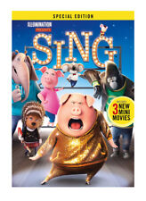 Sing (DVD, 2017) Special Edition - SHIPS WITHIN 1 BUSINESS DAY W/TRACKING